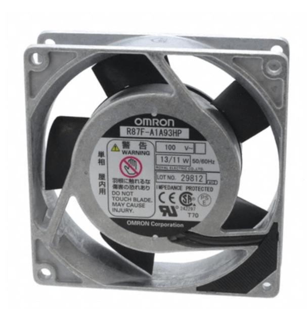 OMRON R87F-A1A93HP AC100V 92 * 92 * 25mm aluminum frame AC Fan