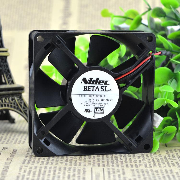 NIDEC D08A-24TS2 01 24V 8CM 80X25MM inverter cooling fan