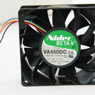 Nidec VA450DC V35633-94 12V 2.75A 12CM dual ball bearing cooling fan