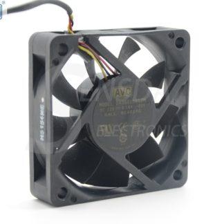 AVC DA06015B12M 60*60*15 mm DC 12V 0.18A 3-pin axial server inverter TV Set cooling fan