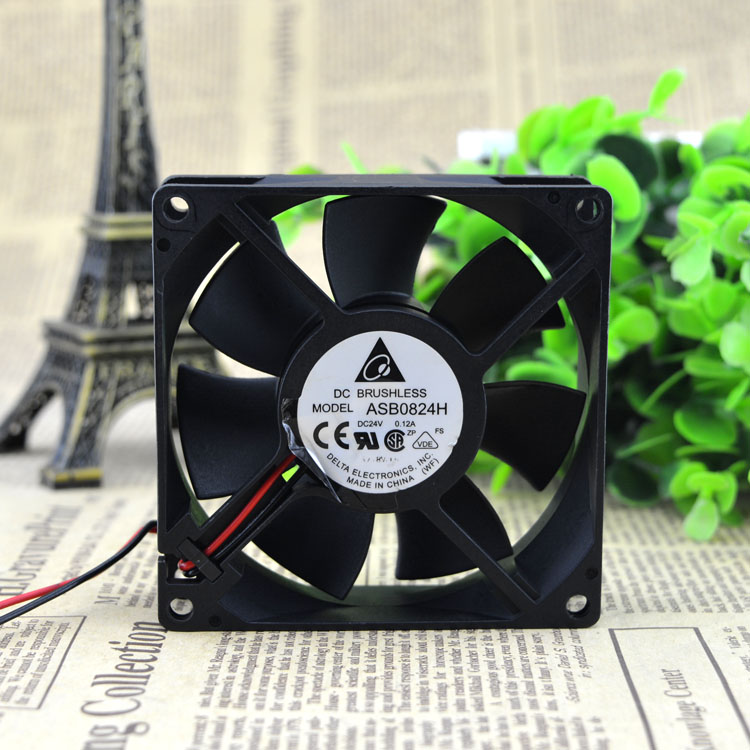 Delta ASB0824H 24V 0.12A  2line frequency converter cooling fan