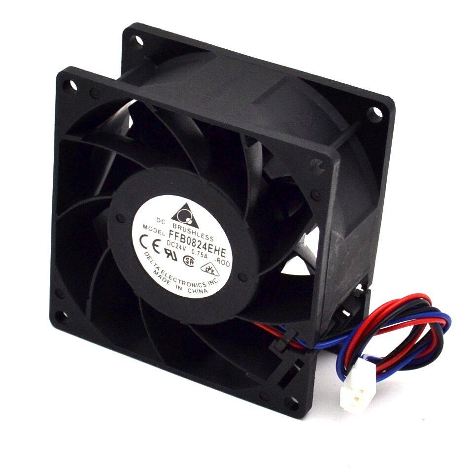 Delta FFB0824EHE 24V 80*80*38mm axial cooling fan