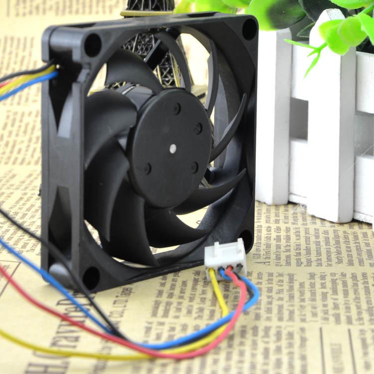 Nidec TA275DC C35598-35 GFOX 7cm 12V 0.48A four-wire pwm axial fan