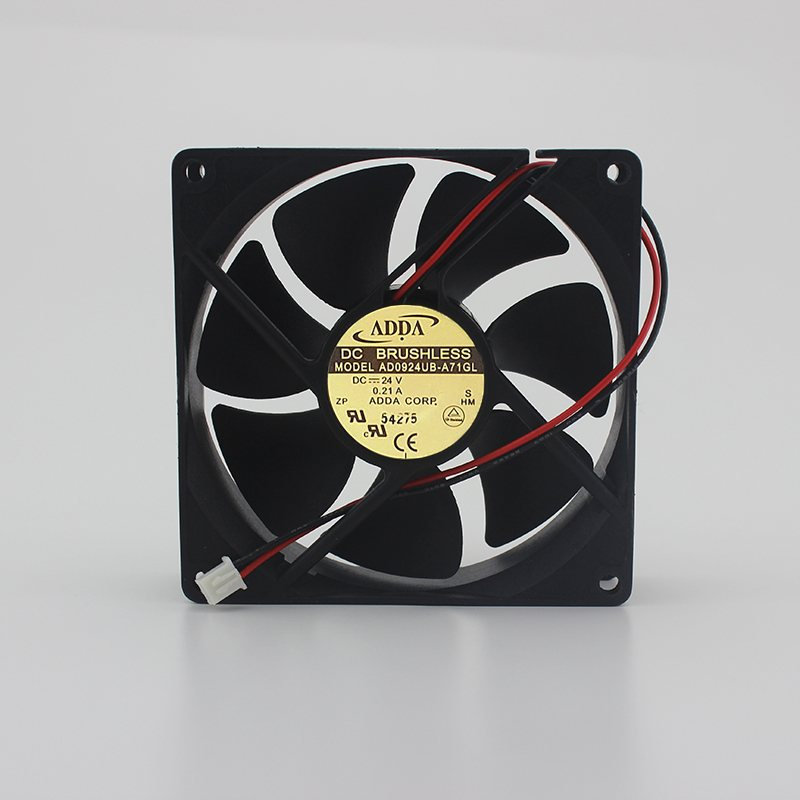ADDA AD0924UB-A71GL 24V 0.21A 9CM 2-wire inverter fan