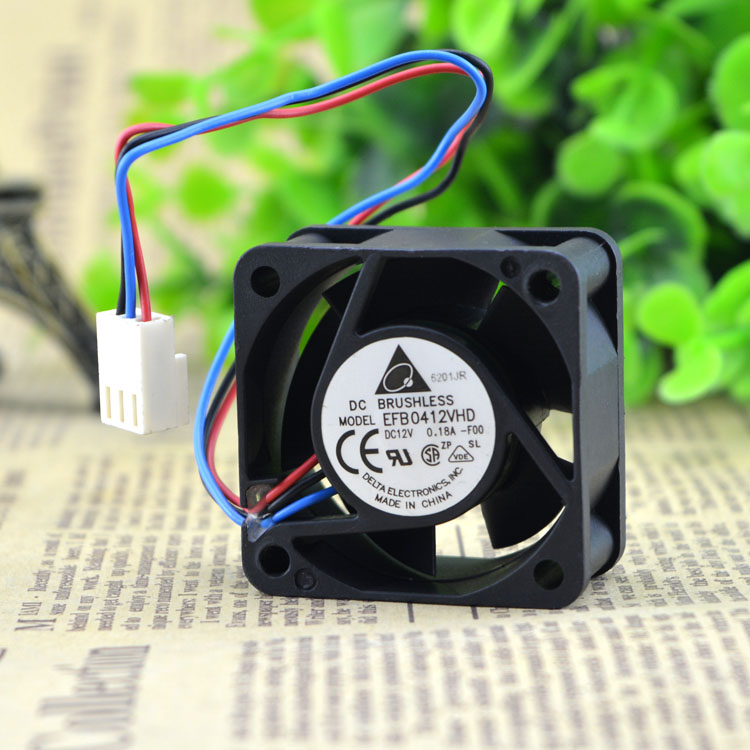 Delta EFB0412VHD 40*40*20MM 12v 0.18A cooling fan