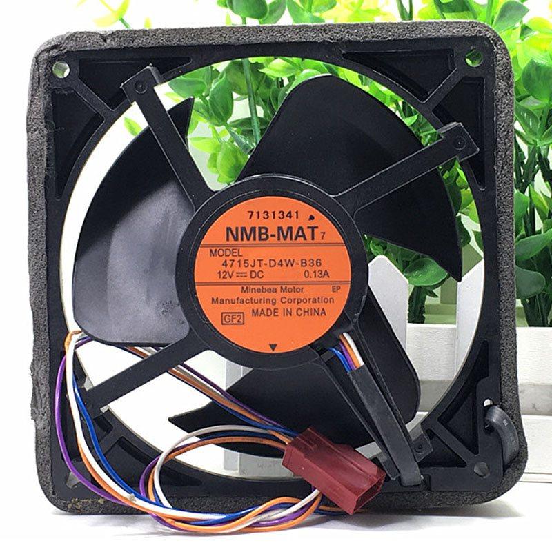 NMB 4715JT-D4W-B36 DC12V 0.13A 12-m refrigerator cooling fan