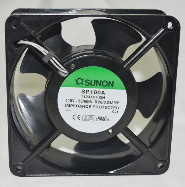 SUNON SP100A 1123XBT.GN 115V 120*120*38MM cabinet fan