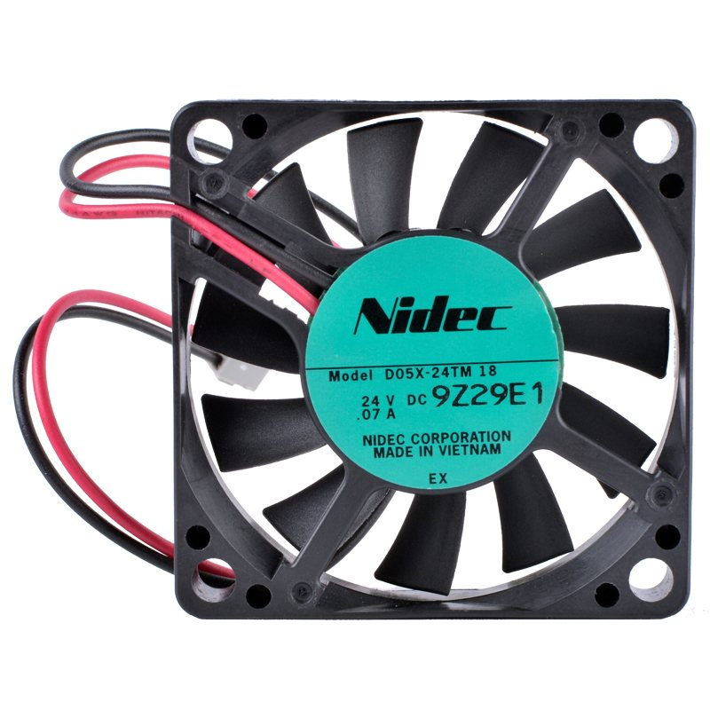 Nidec D05X-24TM 50x50x10mm 24V 0.07A Inverter industrial cooling fan
