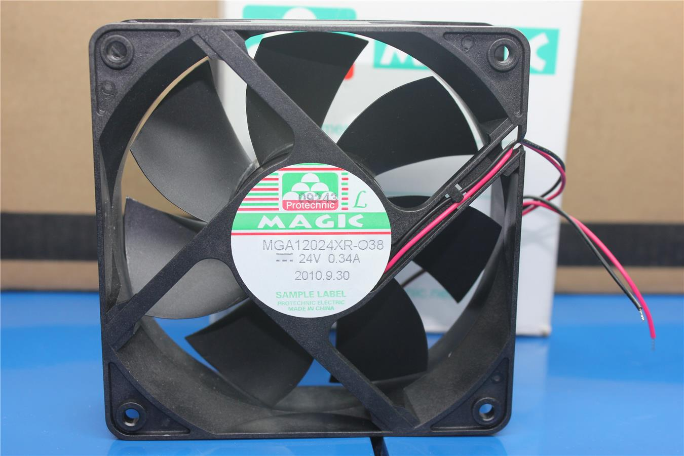 Magic MGA12024XB R-O38 24V 0.34A inverter chassis small fan