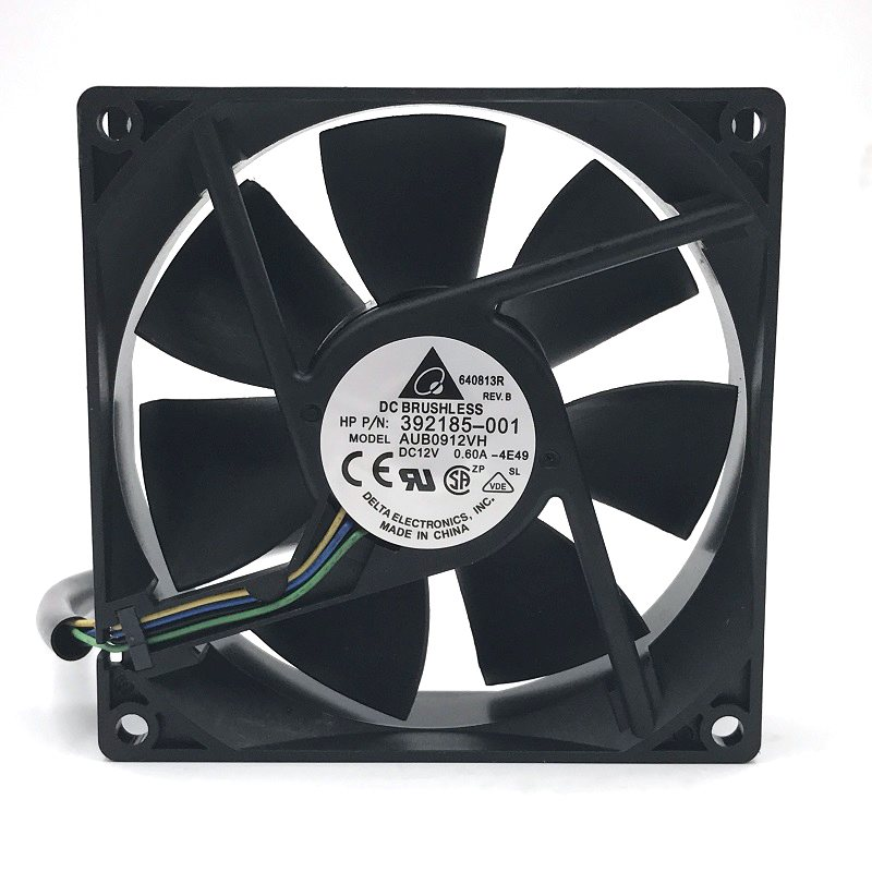 Delta AUB0912VH 392185-001 12V 0.60A 4-pin cooling fans
