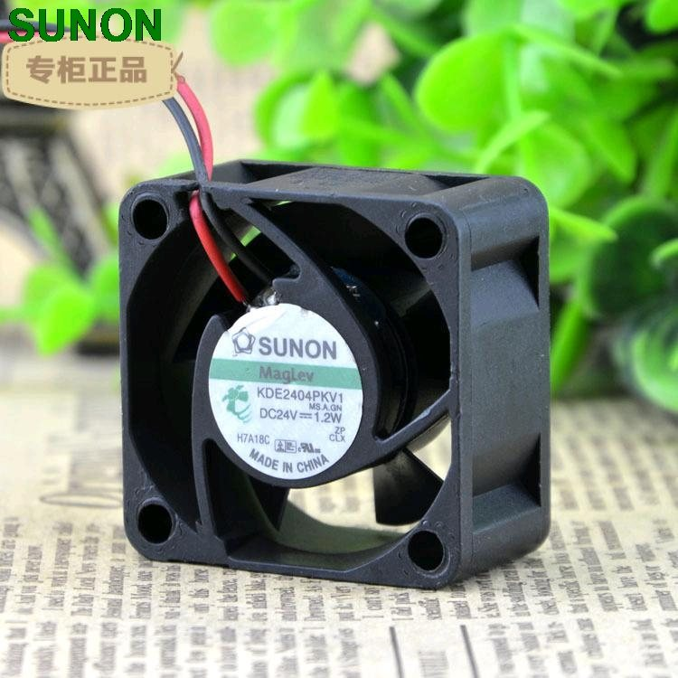 SUNON maglev KDE2404PKV1 4CM 24V 1.2W power supply axial cooling fan