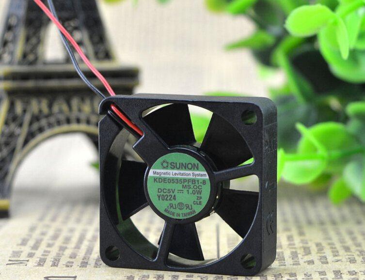 SUNON KDE0535PFB1-83.5CM 5V 1.0W 2wire cooling fan
