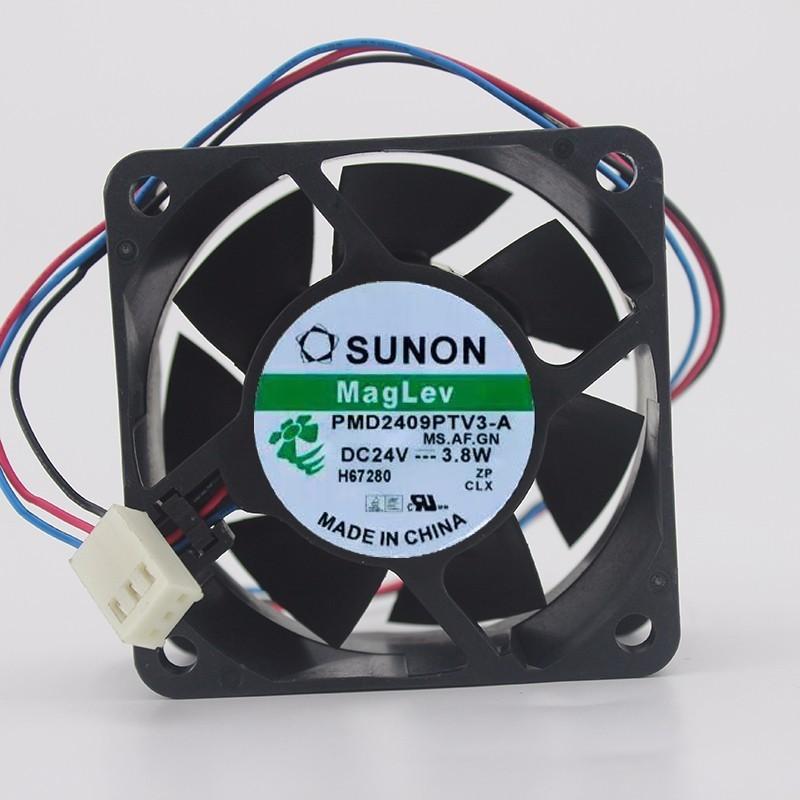 SUNON PMD2409PTV3-A 24V 3.8W 9cm  3-line Inverter Cooling Fan
