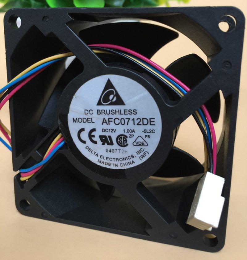 Delta AFC0712DE DC12V 2.50A 4 lines PWM Cooling Fan
