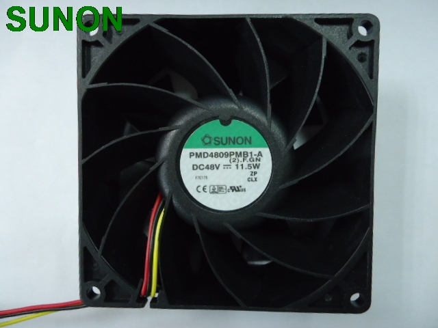 SUNON PMD4809PMB1-A 48V 11.5W dual ball bearing fan