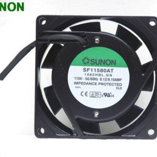Sunon SF11580AT 1082HBL 8CM 80MM 8025 80x80x25mm 115V AC 0.1A Axial Cooling fan