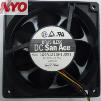 Sanyo 109R1212H1J031 DC12V 0.55A cooling Axial Fan