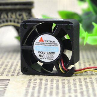 Y.S.TECH FD0530154B-2A DC5V 0.55W cooling fan