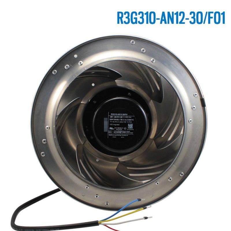 Ebmpapst R3G310-AN12-30/F01 48V 4A 190W Stepless Speed Control Fan