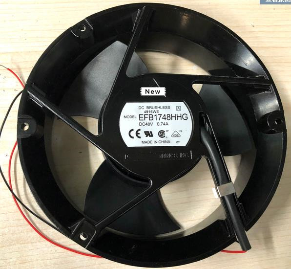DELTA EFB1748HHG DC48V 0.74A 172x172x51mm Server Cooling Fan