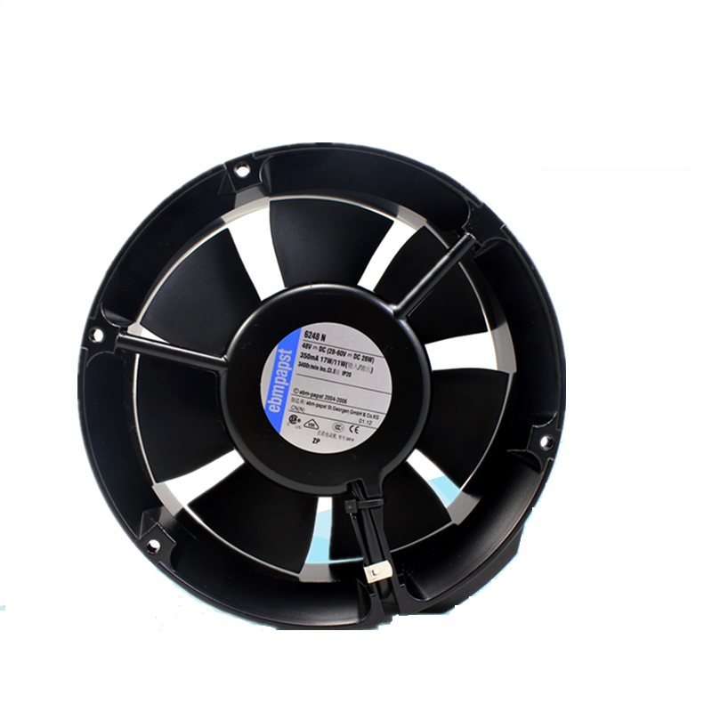 ebmpapst 6248N 48V axial flow cooling fan