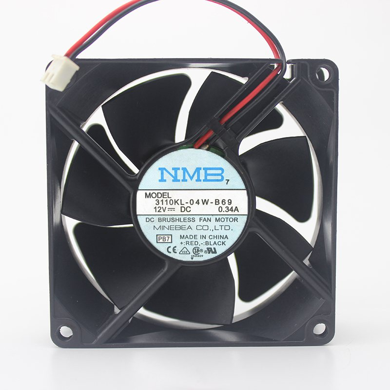 NMB 3110KL-04W-B69 12V 0.34A axial cooling fan