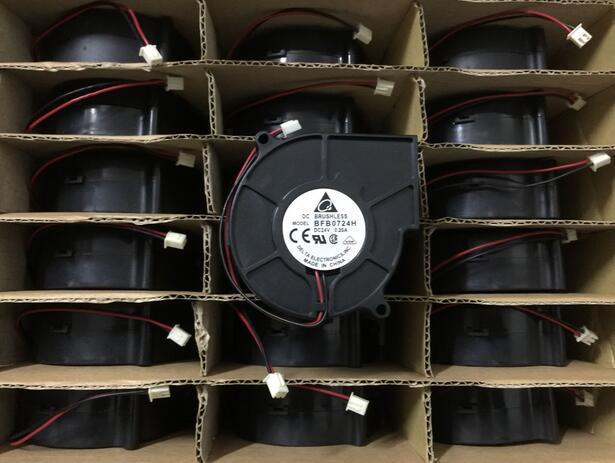 DELTA BFB0724H 0.20A 7CM 2-line Inverter Cooling Turbine Cooler Fan