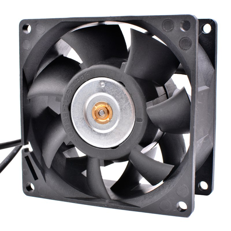 Delta FFC0812DE 12V 1.80A Dual ball 4-wire PWM flow cooling fan