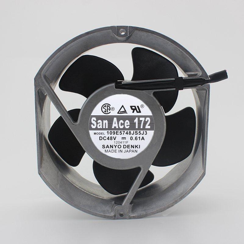 Sanyo109E5748JS5J3 48V 0.61A 17cm server fan