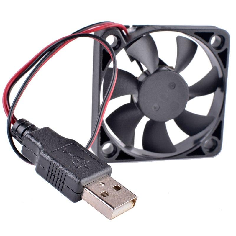 ADDA AD0505LX-G70 DC5V 0.12A USB DIY transformation router set-top box cooling