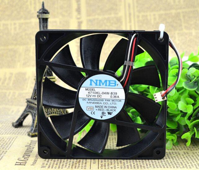NMB-MAT 120*120*25 4710KL-04W-B39 DC12V 0.36A 12CM fan