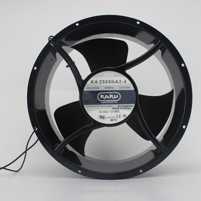 KAKU KA2509HA2-4 AC220V full round high temperature silent cooling fan