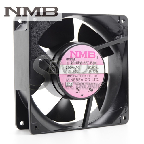 NMB 4715PS-22T-B30 12cm AC 220V 120*120*38mm  inverter cooling fan