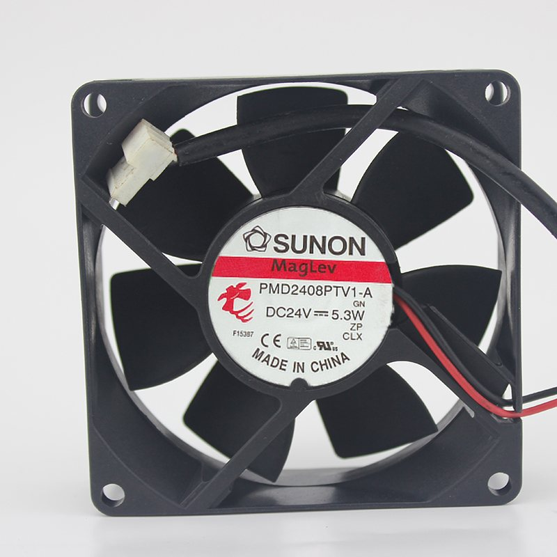 SUNON PMD2408PTV1-A 24V 5.3W 2-wire inverter industrial cooling fan