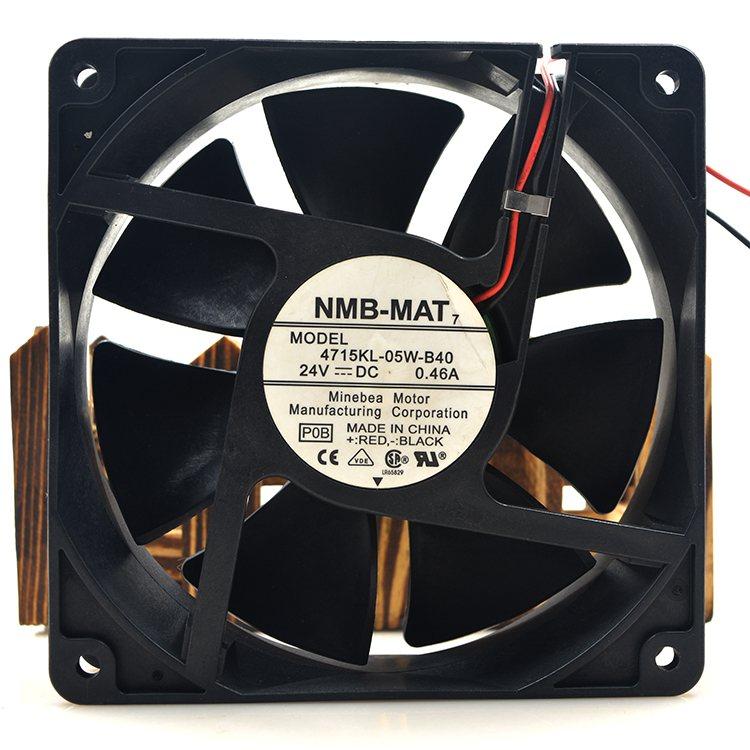 NMB 4712KL-05W-B40 DC 24V 0.48A 3100RPM cooling fan
