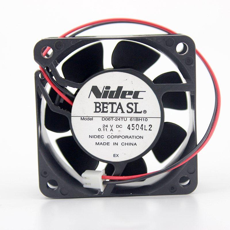 NIDEC D06T-24TU DC12V 0.11A 2line speed invert cooling fan