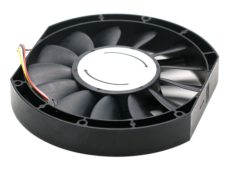 NMB 5910PL-07W-B75 17025 17cm 170mm DC 48V 0.85A slim industrial cabinet cooling fan