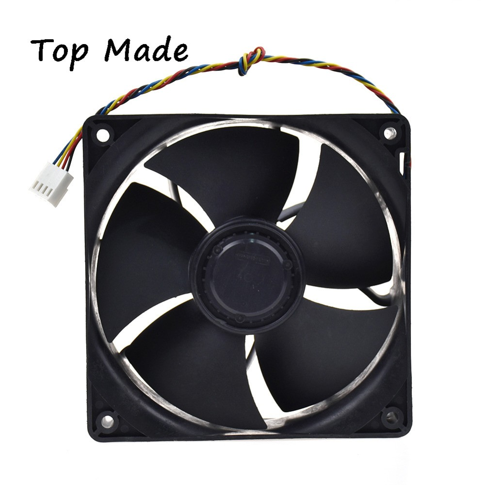 NIDEC W12E12BS11B5-57 12VDC 1.65A 4pin PWM cooling fan