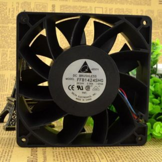Delta FFB1424SHG DC24V 2.30A 140*140*50mm 4-wire cooling fan