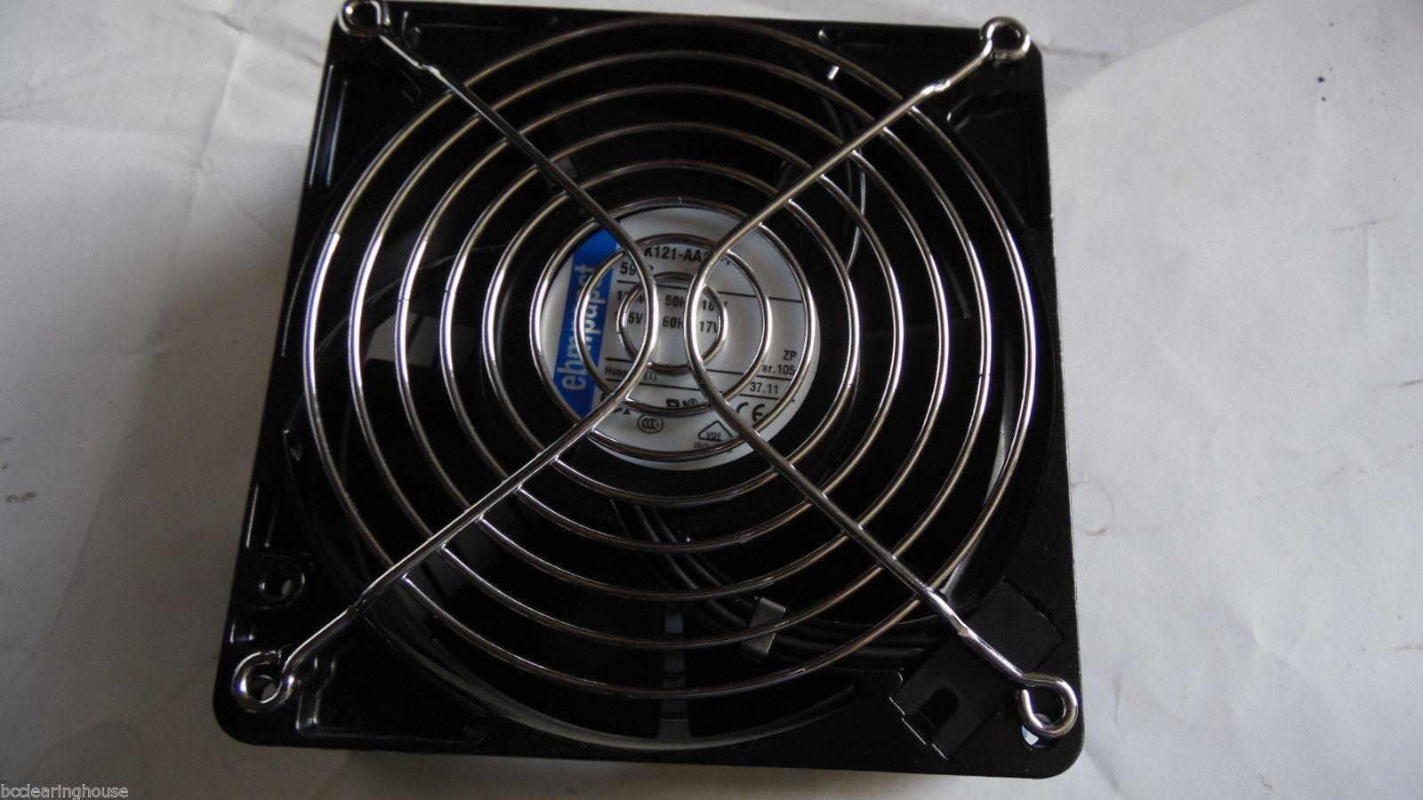 ebmpapst W2K121-AA15-13  115V 50Hz 18W 5908 cooling fan