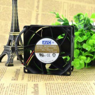 AVC DBTB0838B2S 80*80*38 12V 2.10A PWM four line temperature control high speed air fan