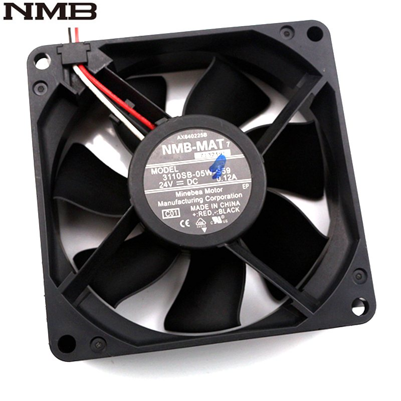NMB 3110SB-05W-S59 24V 0.12A 80*80*25mm axial inverter cooling fan