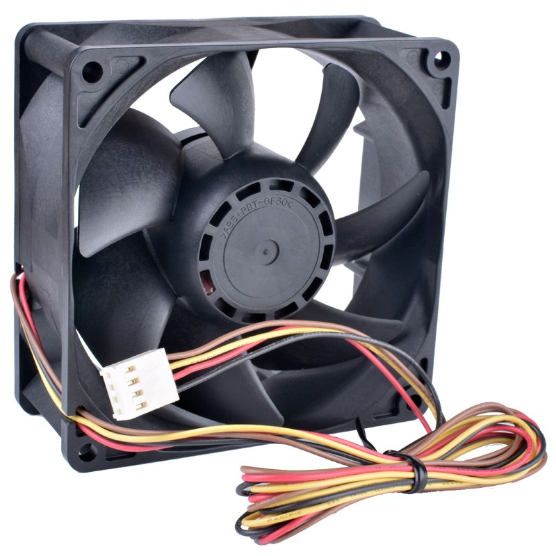 Sanyo 9G0912P1G10 DC12V 1.1A 4wire double ball bearing cooling fan