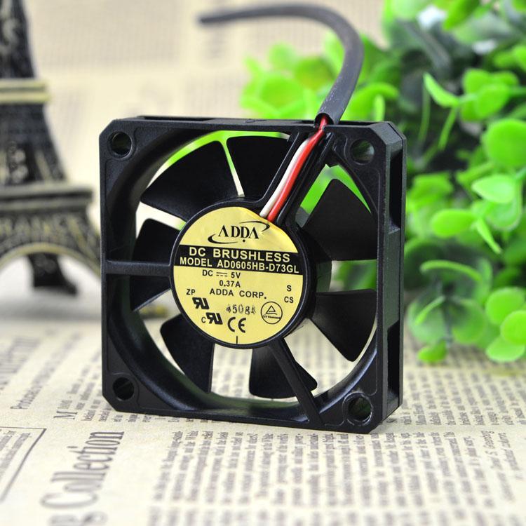 ADDA AD0605HB-D72GL DC5V 0.37A cooling fan