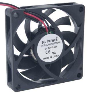 EG POWER  24V EG7015M24B  2 line DC fan double ball industrial fan