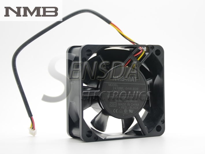 NMB 2410ML-04W-B39  60mm 12V 0.16A 3Wire server inverter cooling fan