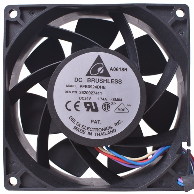 Delta PFB0924DHE 9cm DC24V 1.74A Server Inverter Cooling fan