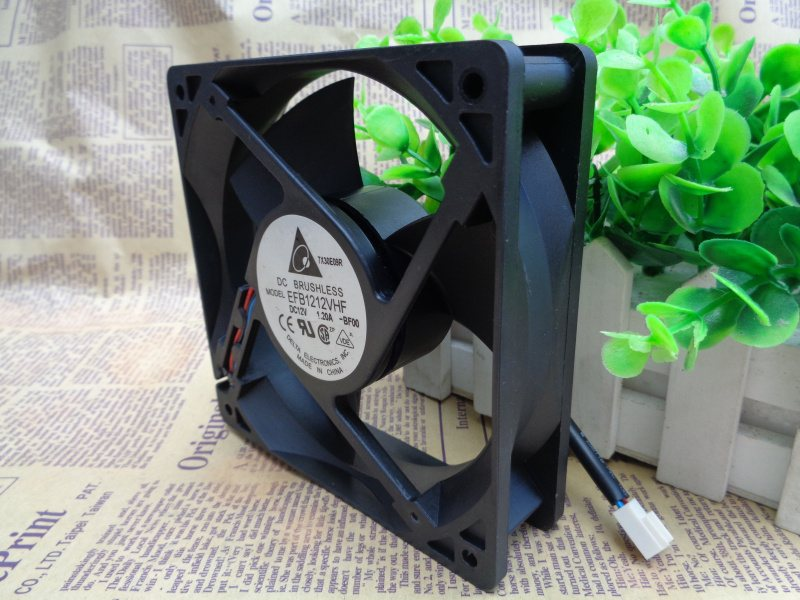 Delta EFB1212VHF 120x120x32mm DC 12V 1.20A 3Lines Axial Cooling Fan