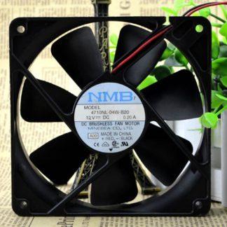 NMB 4710NL-04W-B20  120*120*25 12V 0.20A chassis fan