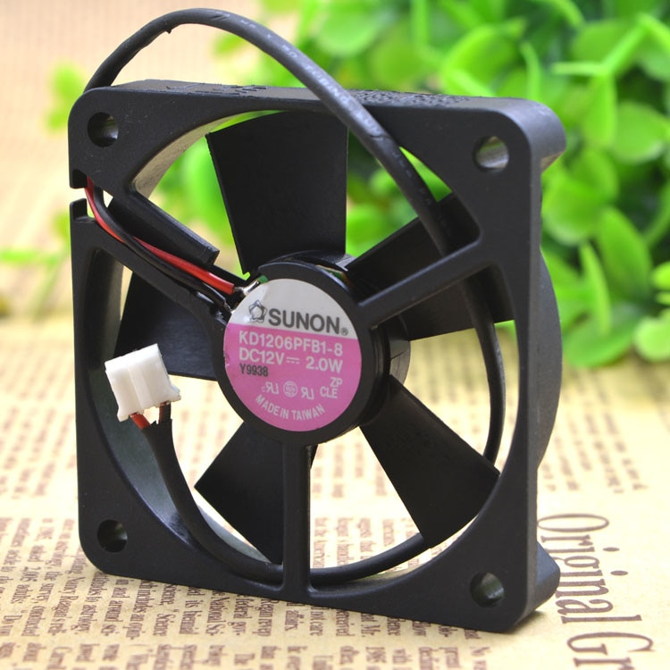 SUNON KD16PFB1-8 DC12V 2.0W ball bearing cooling fan